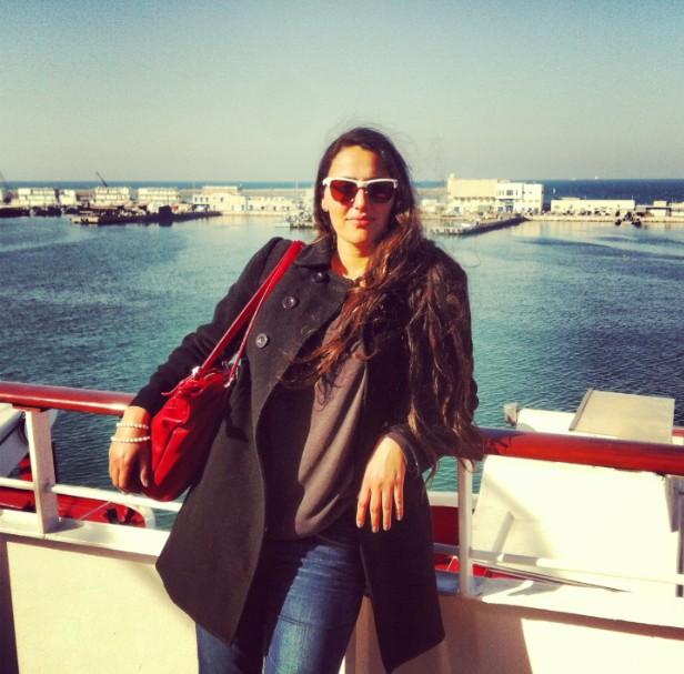 ביקור באונית הפאר גולדן איריס של מנו ספנות