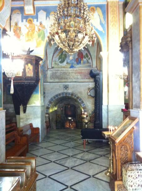 ביקור בכנסיית סנט גבריאל בנצרת