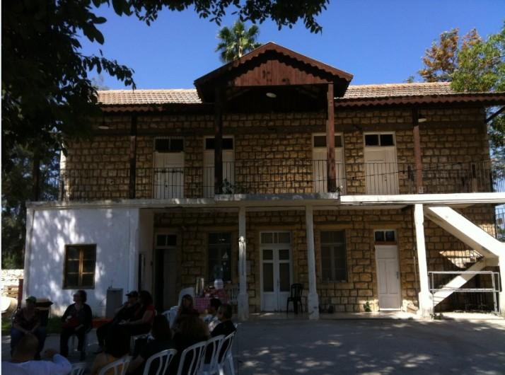 מוזיאון החצר הישנה בקיבוץ עין שמר