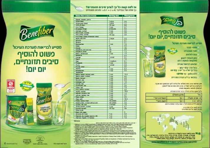 סדנת בישול עם הסיבים התזונתיים של בנפייבר - Bebefiber