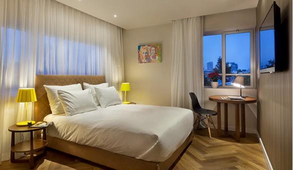 """מלון בוטיק שינקין בת""""א - Shenkin hotel TLV"""