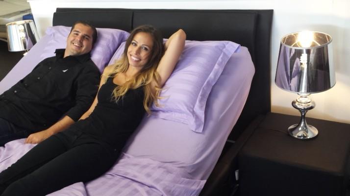 רשת אירופלקס במהפכת המיטות המתכווננות עם סדרת  מיטות מתכווננות ב- 11,880 שקלים
