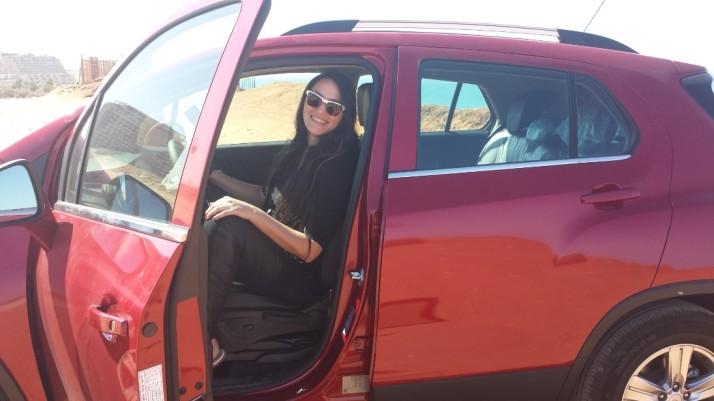 נסיעת מבחן עם שברולט טראקס החדשה - Chevrolet Trax