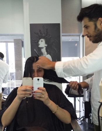 פיתוח מיוחד במספרה של ערן ויניב על החלקת השיער SILK  SRAIGHT