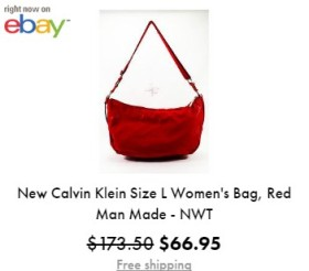 calvin clain hand bag sale