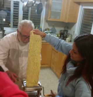 סדנת מיטב מאכלי איטליה אצל ג'אקומו