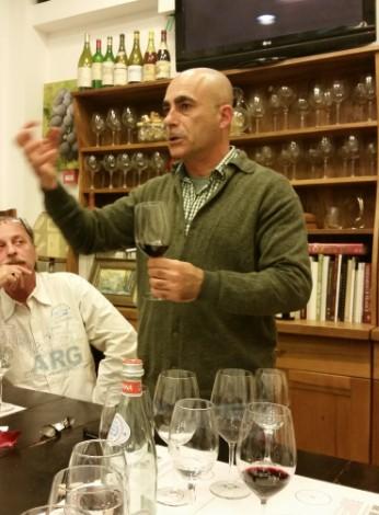 על סדנת צוהר לעולם היין אצל איש הענבים ועל תחרות Terravino 2015