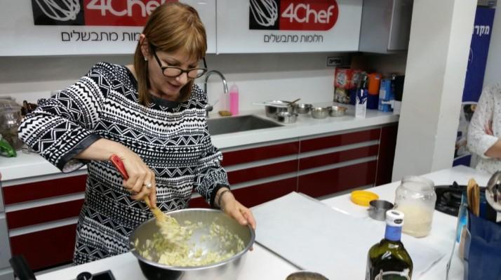 סדנת בישול טבעונית עם עירית אורגניק ו VISAGE – שמן מרווה מרושתת