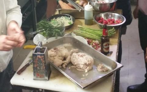 סדנת בישול עם עופות משק ארצי אצל ניר צוק בקורדליה