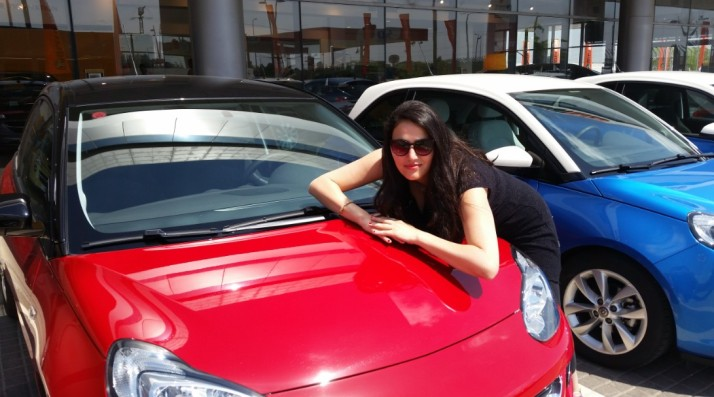 סיבוב דאווין עם אופל אדם Opel Adam