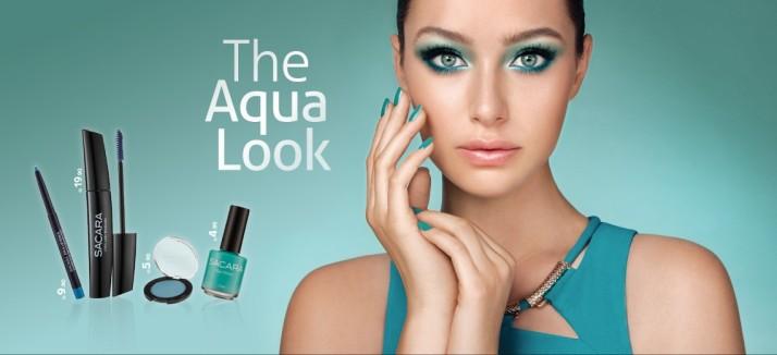 רשת האיפור והקוסמטיקה סקארה מציגה:   The Aqua Look  2015 by SACARA