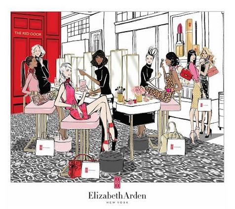בלעדי בחנות דיוטי פרי ג'יימס ריצ'רדסון – סורק העור של אליזבת ארדן  Check in & check your skiin with Elizabeth Arden