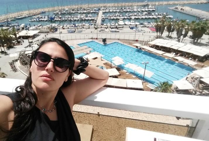 גג מלון מרינה בת
