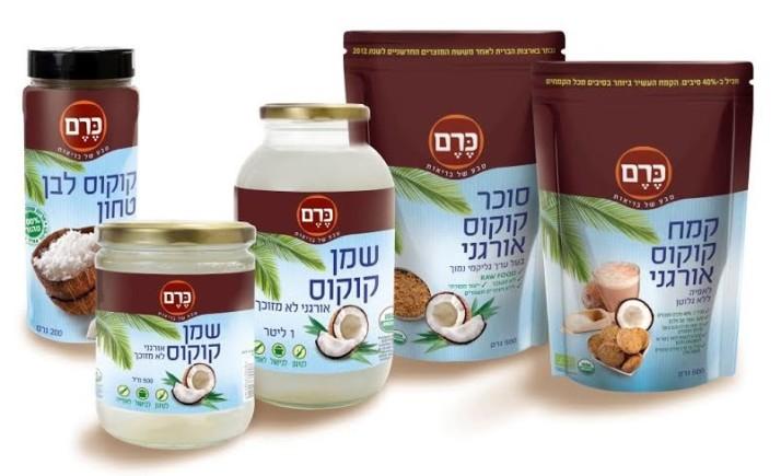 סדרת מוצרי קוקוס בריאותיים חדשה מהפיליפינים – קמח קוקוס, סוכר קוקוס, שמן קוקוס וקוקוס טחון
