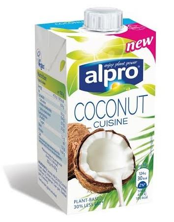 חדשים ובריאים על המדף שמנת מחלב קוקוס אלפרו alpro