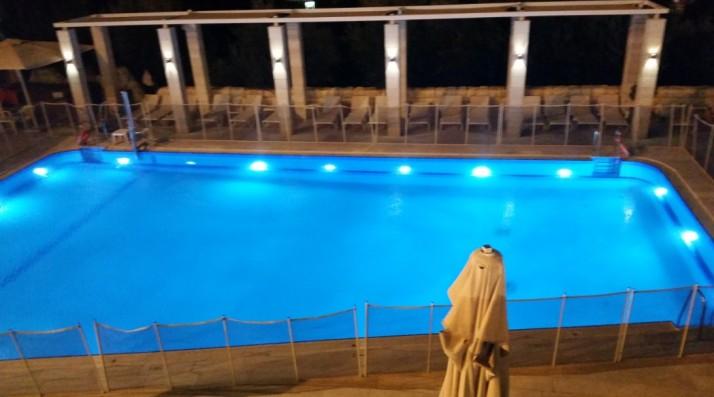 פרימוורה על המרפסת במלון לאונרדו פלאזה ירושלים