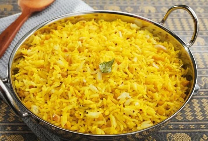 מתכון אורז עם כורכום