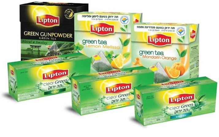תה ירוק קלאסי, תה ירוק ליפטון, תה ירוק פירמידות