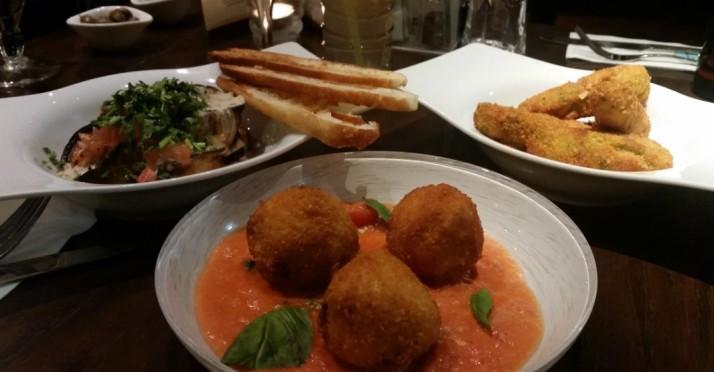 מסעדת בורוכוב 88 רעננה - מנות ראשונות