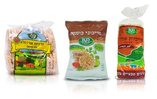 פריכיות אורז בטר אנד דיפרנט