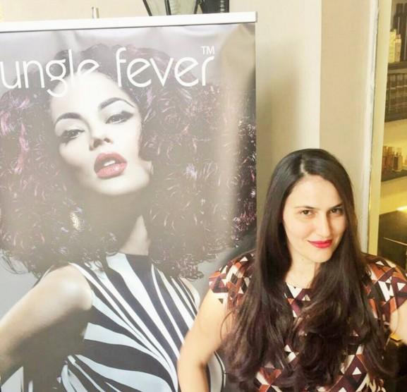 סדרת צבע השיער Jungle Fever של NV Professional