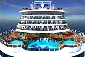 הכירו קרניבל ויסטה Carnival Vista - אניית הפאר הגדולה והחדשנית