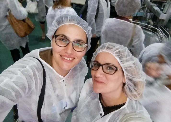 סיור במפעלי קוסמטיקה ישראלים מטעם התאחדות התעשיינים בישראל
