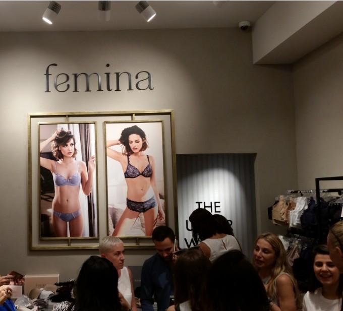 פמינה FEMINA משיקה את חנות הדגל של המותג בקניון גבעתיים