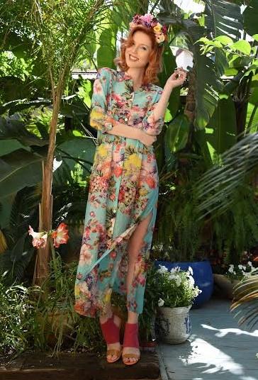 קולקציית קיץ של המעצבת רעומה זקש Secret Garden by Reuma