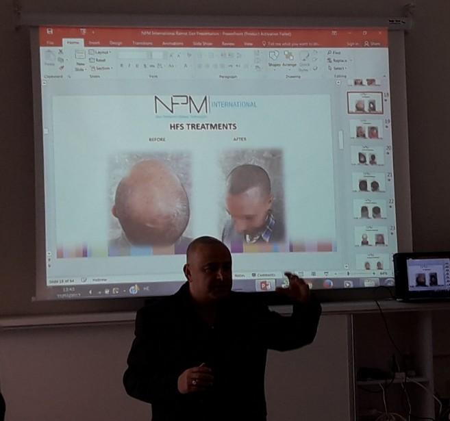 על הטיפולים והטכנולוגיות של חברת NPM הבינלאומית