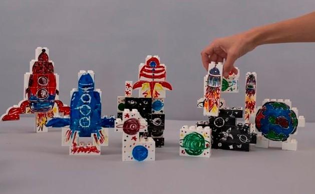 הכירו את GRAFFIBLOCKS גראפיבלוקס משחק יצירה לילדים
