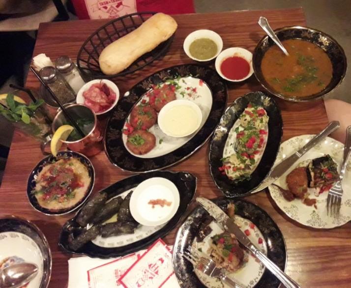 ביקור נוסף במסעדת טש וטשה הגרוזינת ביפו