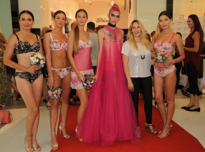 סניף חדש לרשת ליה לונדון Leia London בקניון האופנה גינדי TLV