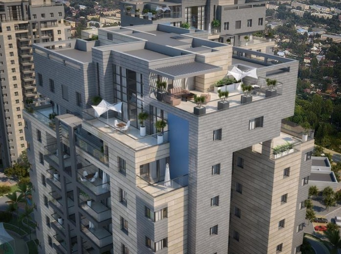 פרויקט רחובות מערב 431 שלאביסרור משה ובניו - 960 יחידות דיור בקומפלקס של 12 מגדלי יוקרה