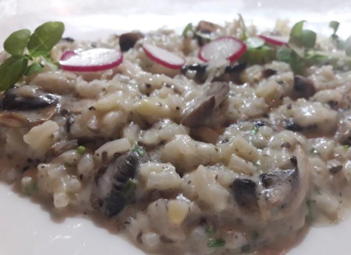 ריזוטו פונגי מסעדת סילו