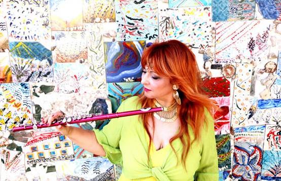 אמנית החלילים חפציבה זר אביב מוציאה אלבום חלילים ישראלי לכבוד שנת ה70 למדינה -נשמה מזרחית Oriental Flutes