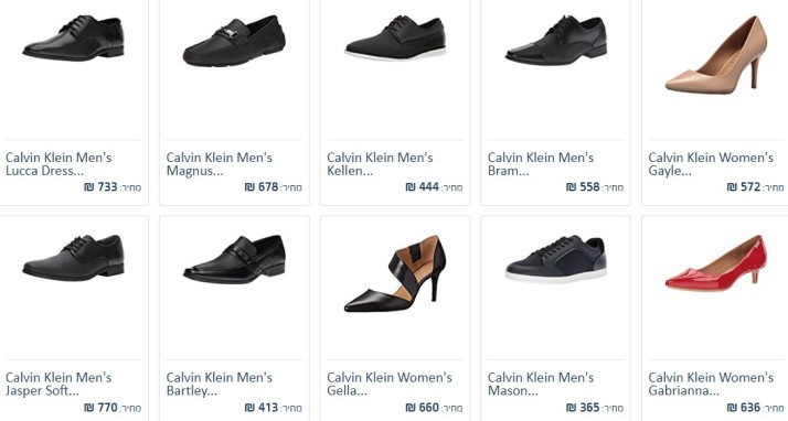 Calvin klein shoes ushops