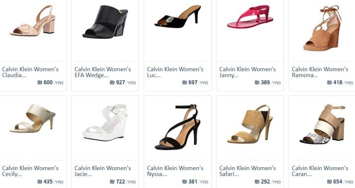 Calvin Klein women sandal