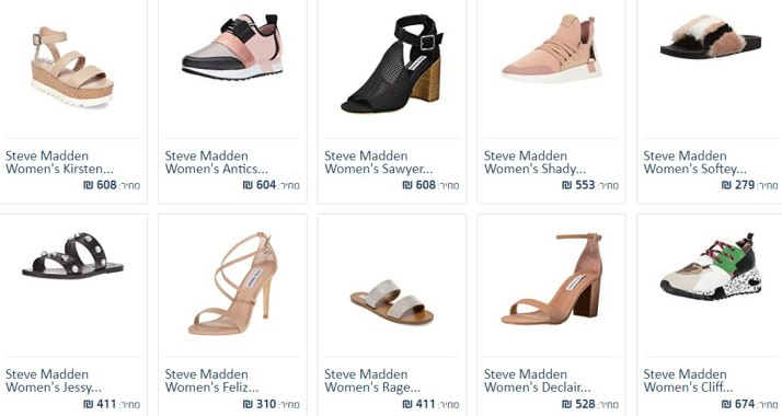 women Steve Madden shoess