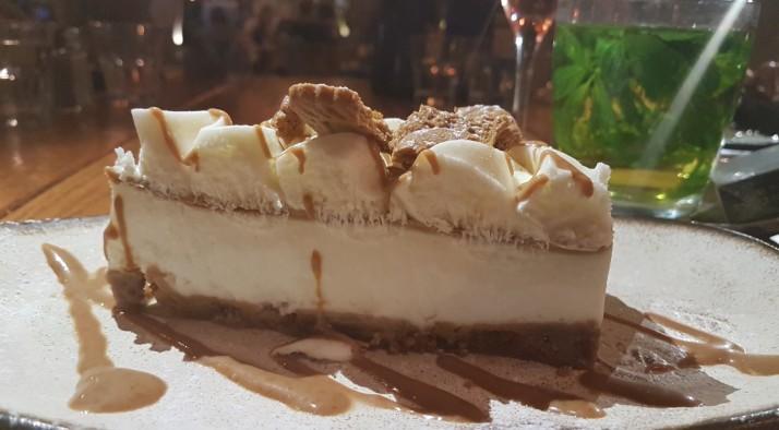 קפה גן סיפור בראשון לציון עוגת גבינה לוטוס