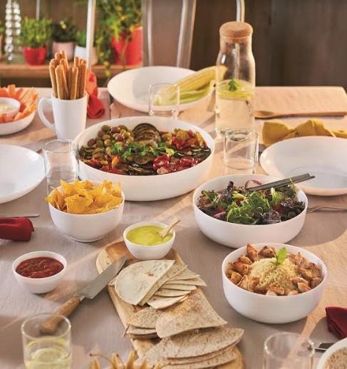 LUMINARC מותג כלי הזכוכית מצרפת משיק את SMART CUISINE סדרת כלים רב שימושית למטבח