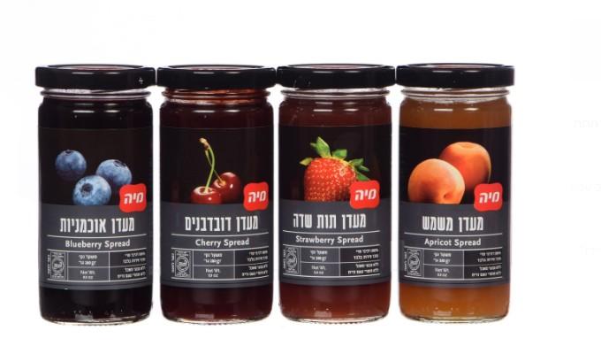 מיה תעשיות מזון משיקה את סדרת מוצרים 100% פרי