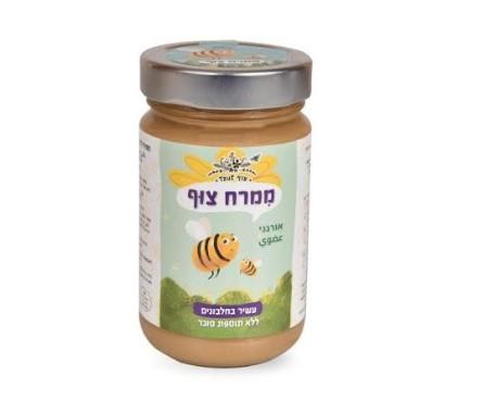 """""""צוף"""" משיקה לרגל ראש השנה מוצר דבש מהפכני:ממרח צוף אורגני –ממרח דבש, שומשום וצוף קוקוס"""