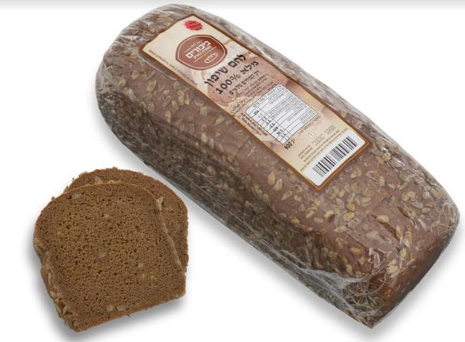 """חברת """"ביכורים מזון ומאפה"""" משיקה """"לחם שיפון 100% מלא"""" טרי וטעים!"""