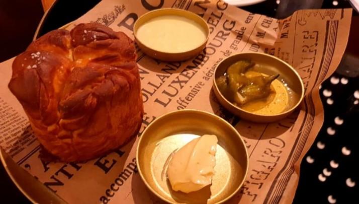 בריוש תימני מסעדת PoUPeE שלשף אורן אסידו