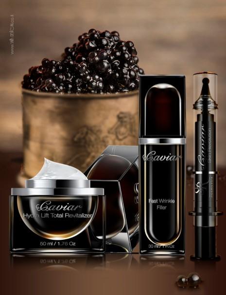 חברת SR COSMETICS משיקה את סדרת Caviar Premium