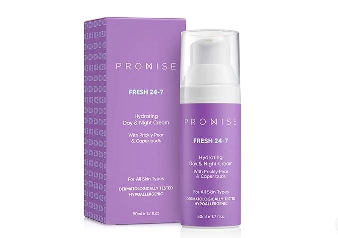 חדש מפרומיס Promise קרם פנים Fresh 24/7