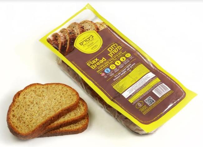 """חברת """"ביכורים מזון ומאפה"""" מציגה לחם פשתן - עשיר באומגה 3, חלבון וסיבים תזונתיים ודל מאוד בפחמימות"""