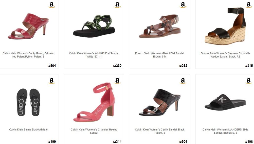 calvin klein woman sandal